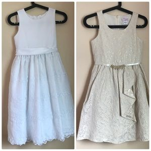 Macy's Brands Lot of 2 Girls sz 12 Formal Gowns